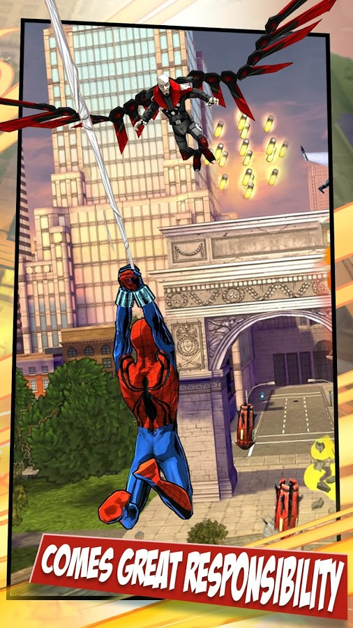 Spider-Man Unlimited APK+DATA (Unlimited Everything)