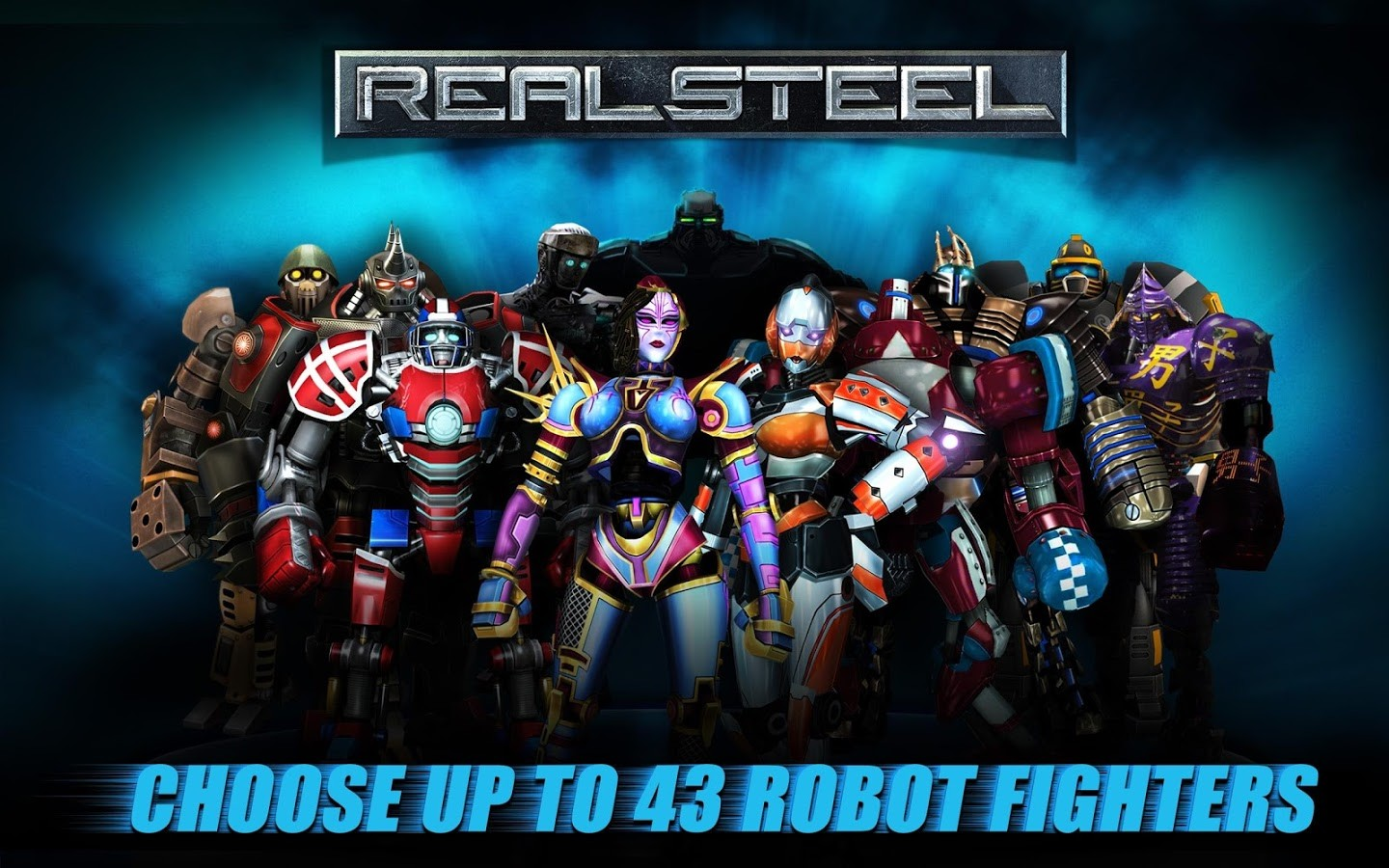 Real Steel MOD APK 1.28.8 (Heroes Unlocked) - AndroPalace