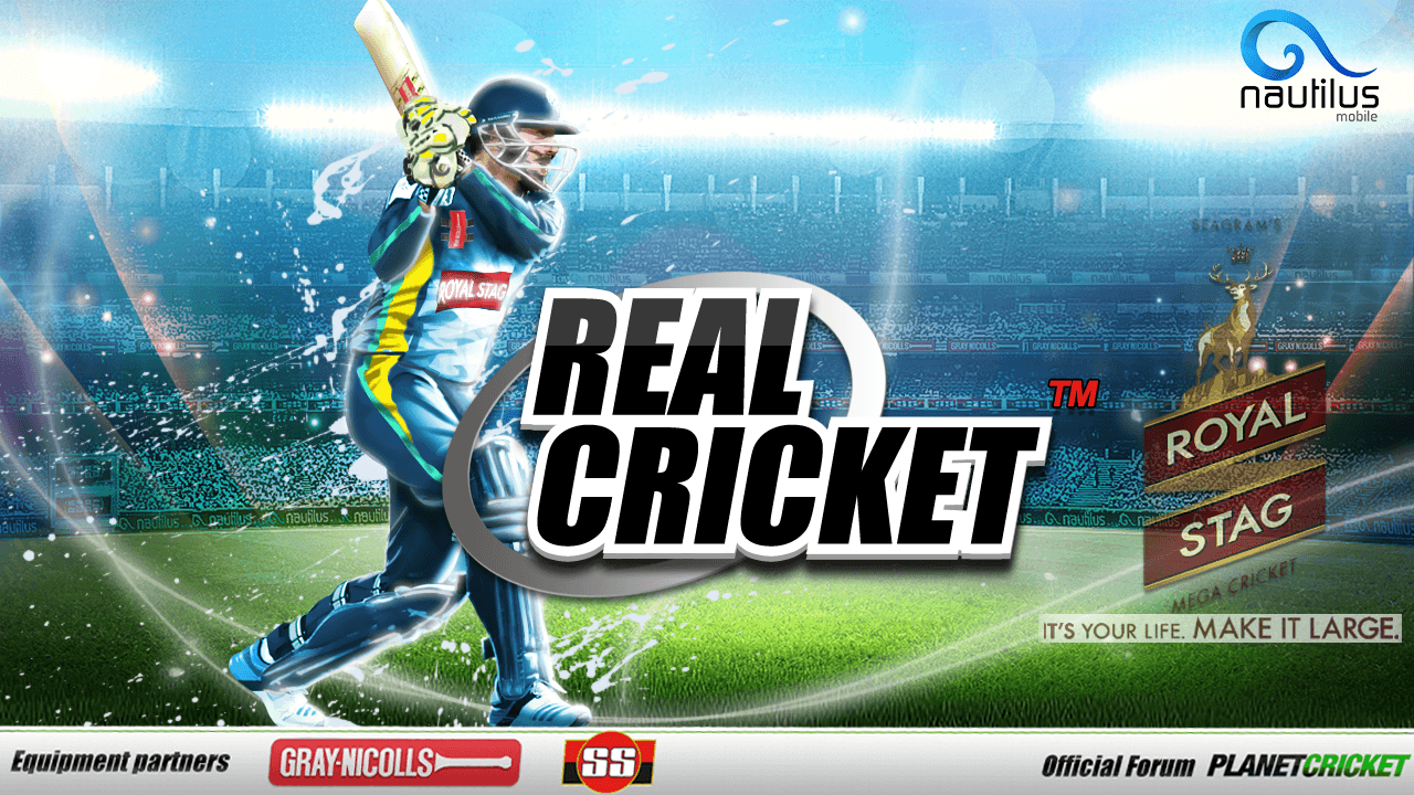 Real Cricket 2018 mod apk New Version And Data download