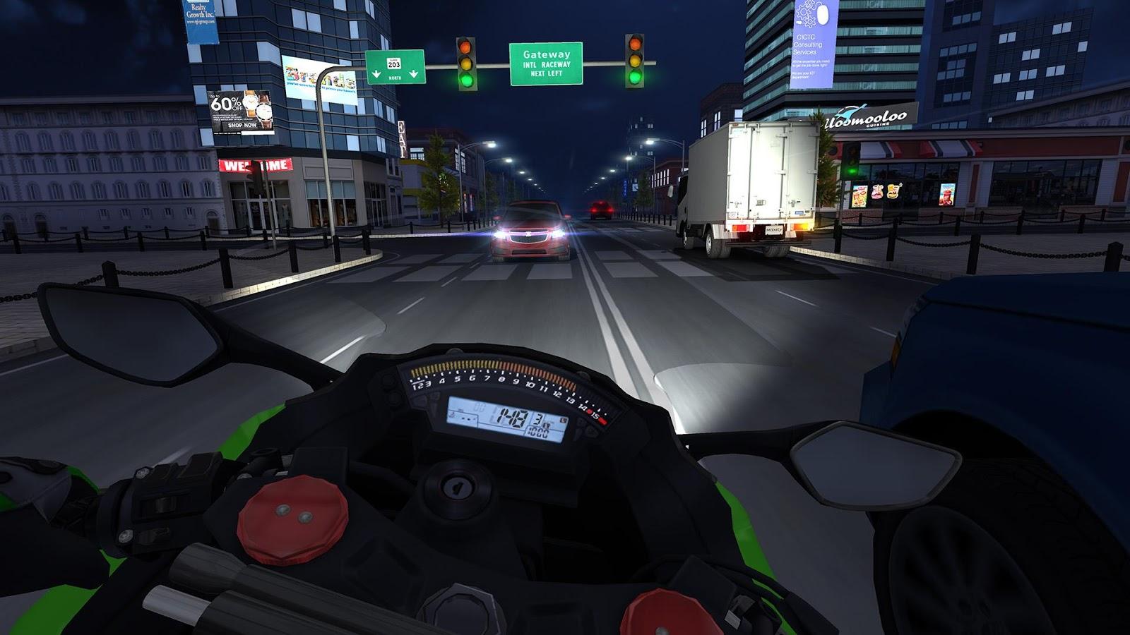 Скачать взломанную игру Traffic Racer на Андроид бесплатно