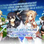 SWORD ART ONLINE Memory Defrag MOD APK 1.39.2 EU NA ASIA