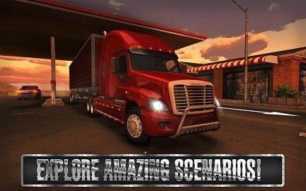 Truck Simulator USA MOD APK With Unlimited Money 2 1 0