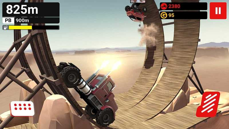 Android HVGA and QVGA Games: MMX Hill Dash MOD APK Cheat Unlimited Money