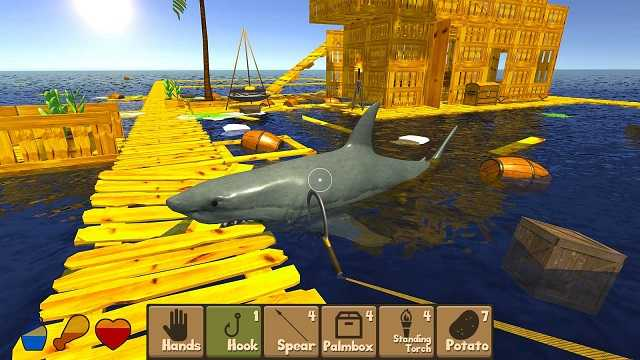 RAFT Original Survival Game MOD APK Unlimited Money 1 49 - AndroPalace