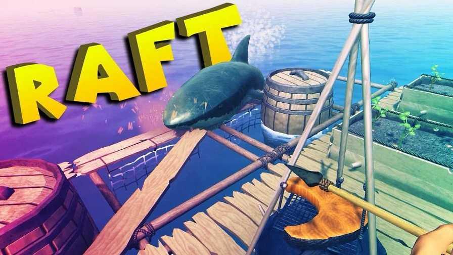 download raft survival mod apk pc