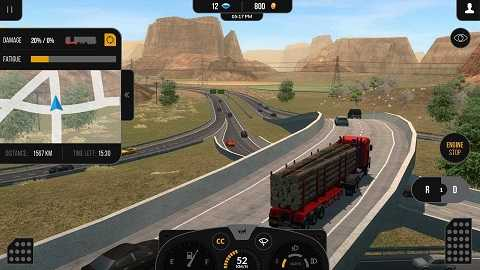 Truck Simulator 2018: Europe (MOD, Unlimited ... - android-1.com