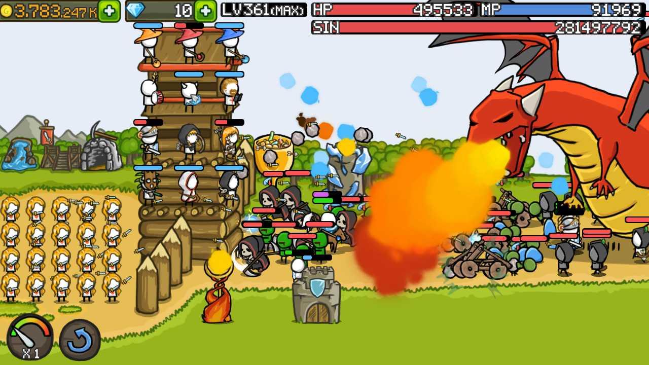 grow castle hacked apk