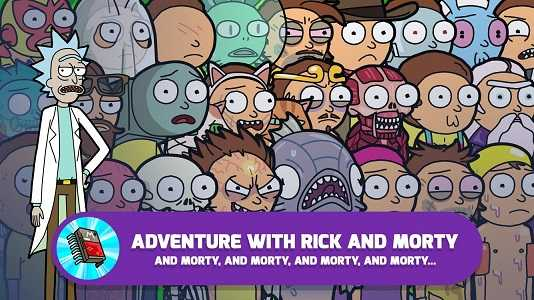 Pocket Mortys MOD APK Unlimited Money 2 11 0 - AndroPalace