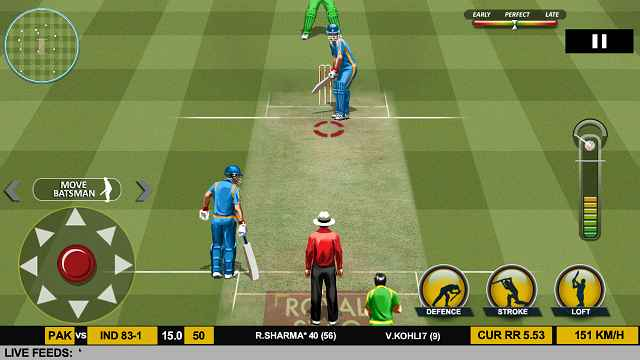 Real Cricket 17 MOD APK Unlimited Coins 2 7 4 - AndroPalace