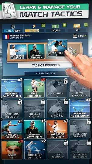 TOP SEED Tennis Manager MOD APK Infinite Money 2.32.17 - AndroPalace