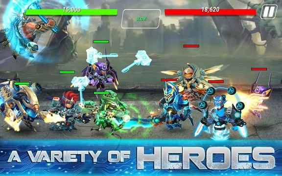 Heroes Infinity MOD APK Unlimited Money 1 28 13L - AndroPalace