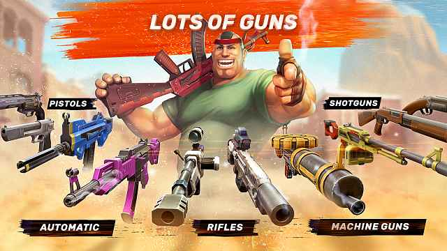 Guns of Boom MOD APK (3.0.0 Anti Ban)