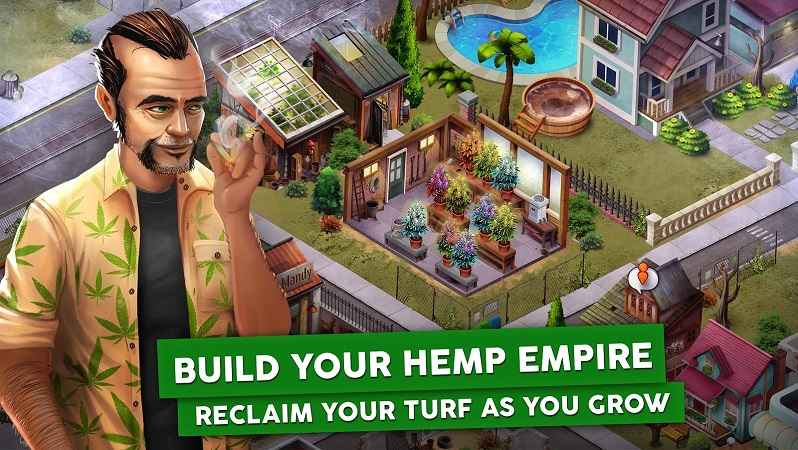 Hempire Weed Growing Game MOD APK Unlimited Money – Gameku