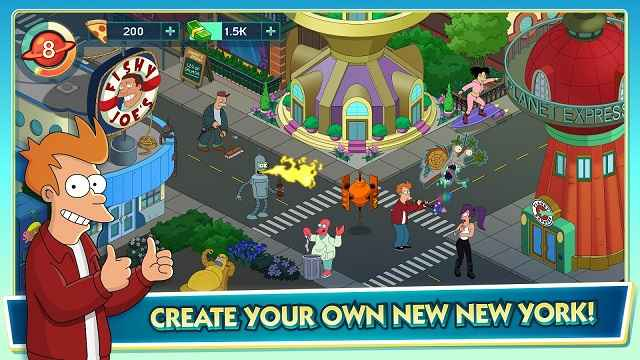 Futurama Worlds Of Tomorrow Mod Apk Fwot Mod Apk Is One Of Those Free To Play Tab Management Games But It Adds So Much More To Set It Apart From The Others