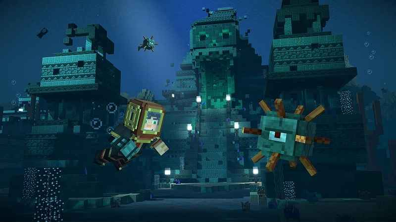 Minecraft Story Mode Season Two APK MOD Episodes Unlocked - AndroPalace