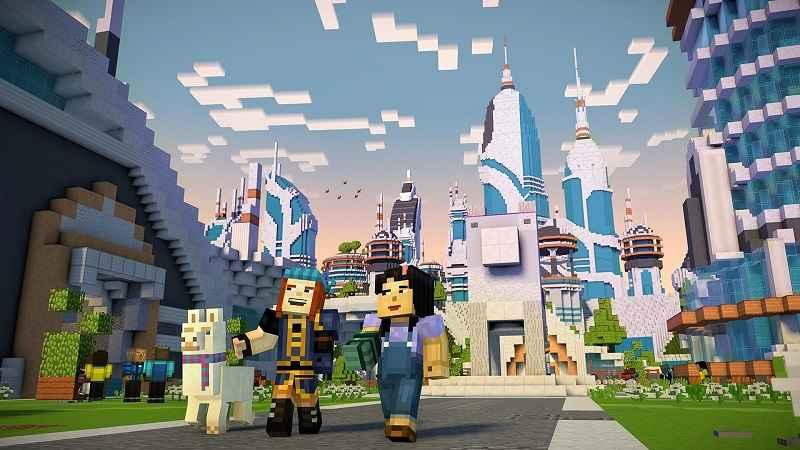 Minecraft Story Mode Season Two APK MOD 1.11 2