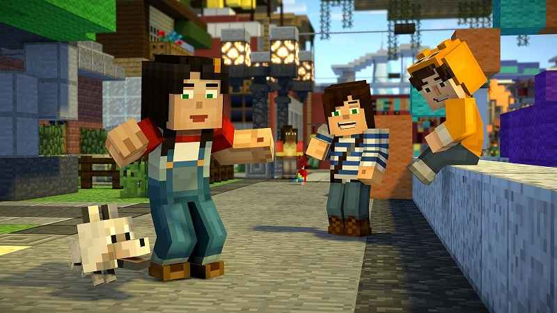 Minecraft Story Mode Season Two APK MOD Episodes Unlocked - AndroPalace