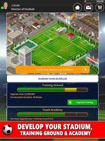 download game apk football manager offline