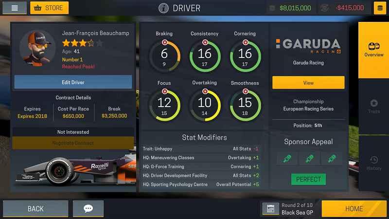 motorsport manager 3 apk mod