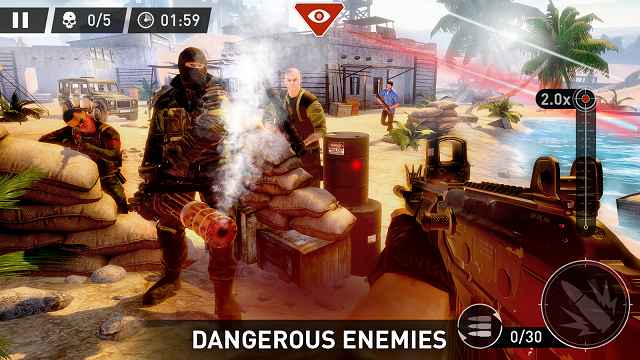 contract killer sniper mod apk rexdl