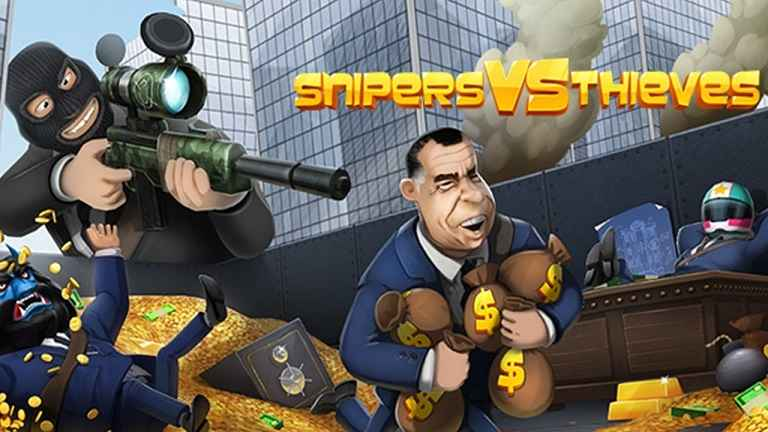 Download Snipers vs Thieves (MEGA MOD) 1.16.19642