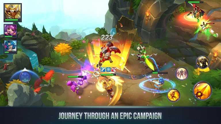 dungeon hunter 3 mod apk download