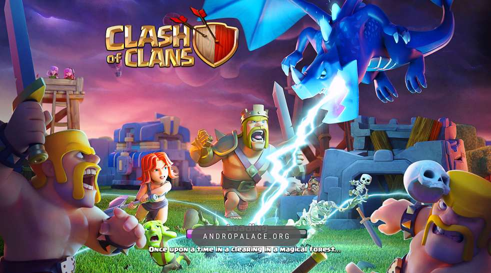 clash of clans mod apk download latest version revdl