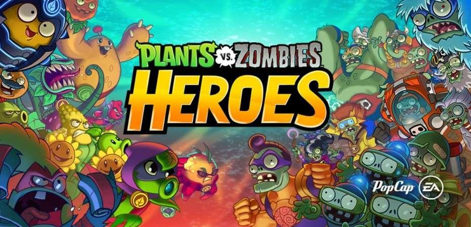 download pvz heroes mod apk unlimited gems