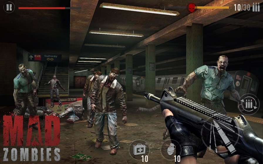download game zombie fighting champions mod apk revdl