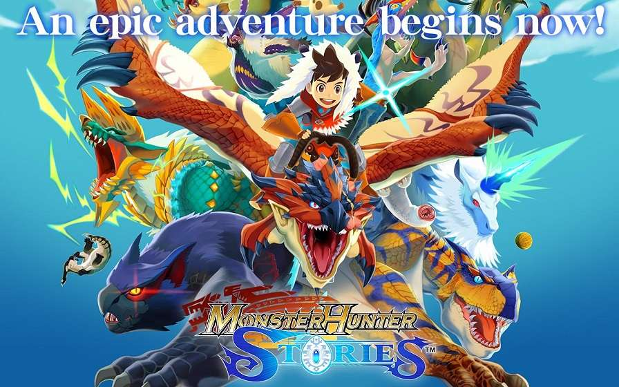 Monster Hunter Stories APK MOD English Unlimited Money - AndroPalace