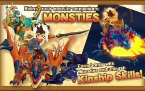 Monster Hunter Stories APK MOD English Unlimited Money