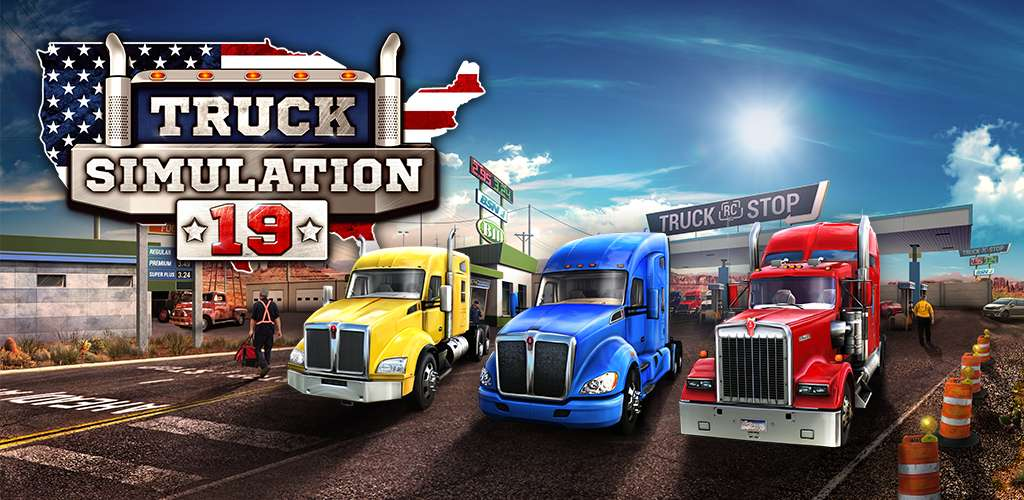 Truck Simulation 19 MOD APK Full Version Unlocked - AndroPalace