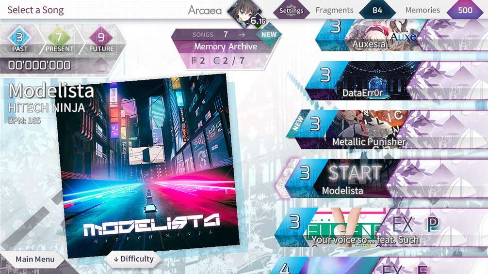 Arcaea MOD APK Everything Unlocked New Dimension Rhythm Game