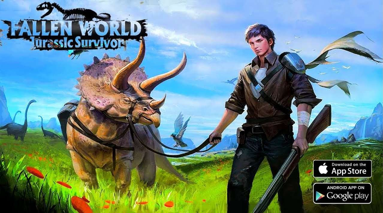 Fallen World Jurassic survivor APK MOD Android Download - AndroPalace