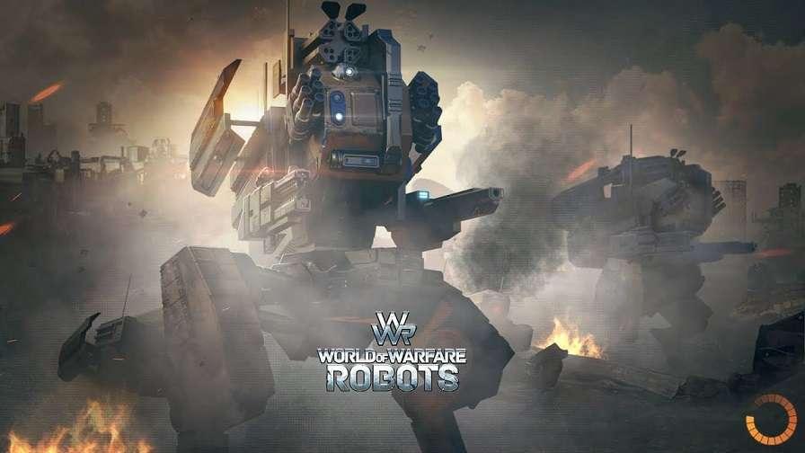 WWR World of Warfare Robots MOD APK Free VIP Account - AndroPalace
