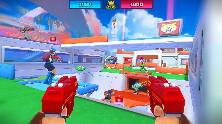 FRAG Pro Shooter MOD APK Unlimited Money 1 4 6 - AndroPalace