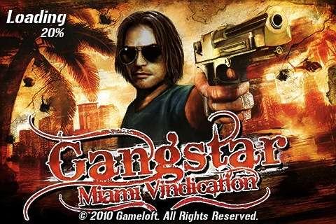 gameloft gangstar miami vindication