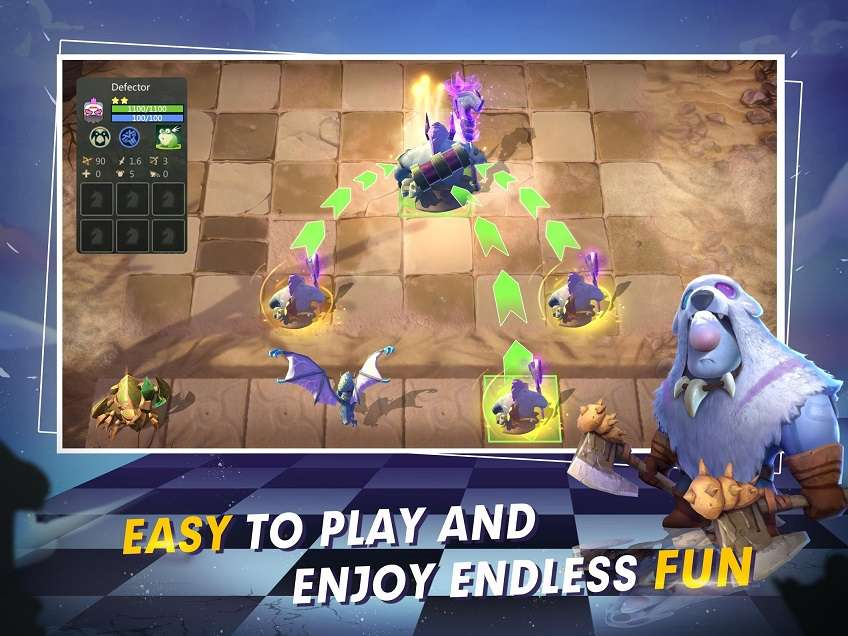 Auto Chess MOD APK Mobile Free Summon 0 5 0 - AndroPalace