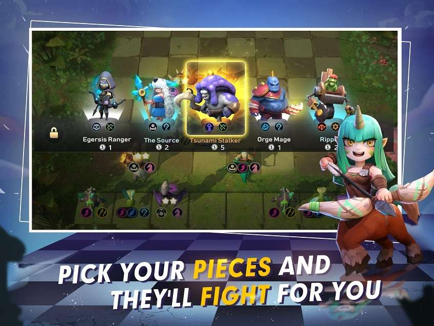 Auto Chess MOD APK Mobile Free Summon 0 4 0 - AndroPalace